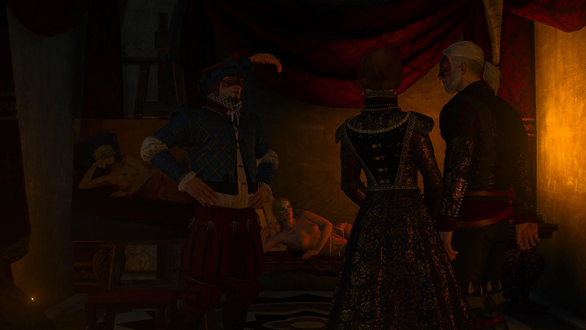 witcher3 Дворянин из Цинтры