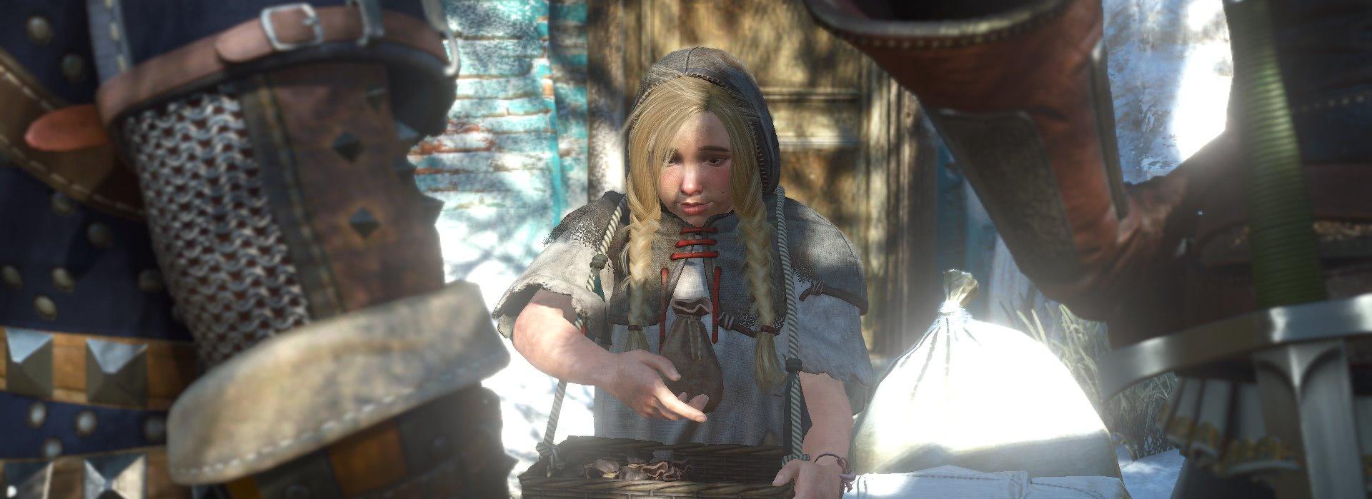 witcher3 Девочка со спичками