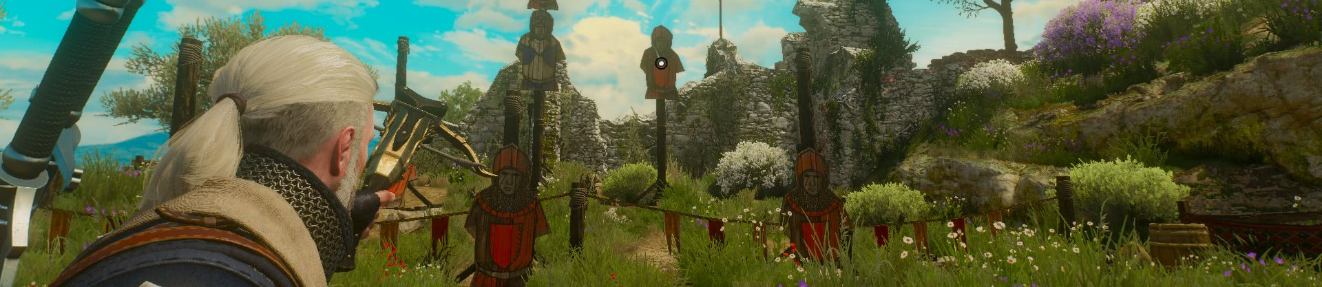 witcher3 Песнь рыцарского сердца арбалет