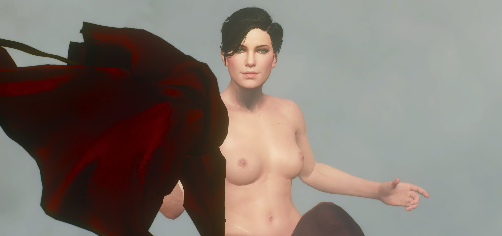 witcher3 Секс с Сианной