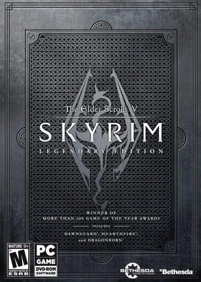 The Elder Scrolls V: Skyrim logo