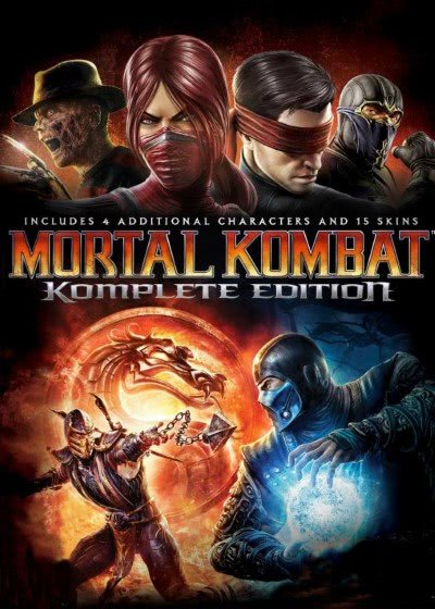 Mortal Kombat 9 logo