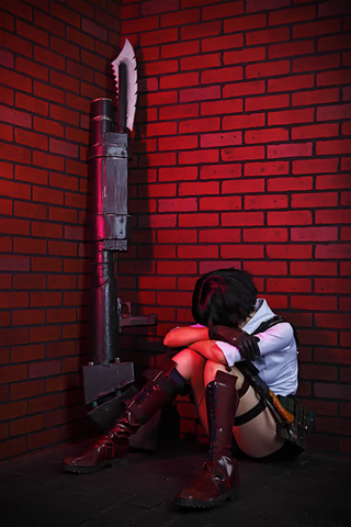 Lady by Narga-Lifestream (Devil May Cry 3) cosplay 1