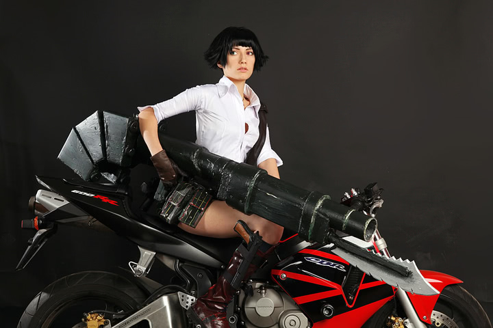 Lady by Narga-Lifestream (Devil May Cry 3) cosplay 5