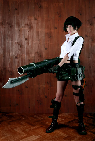 Lady by Narga-Lifestream (Devil May Cry 3) cosplay 6