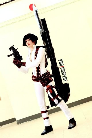 Lady by Narga-Lifestream (Devil May Cry 3) cosplay 10