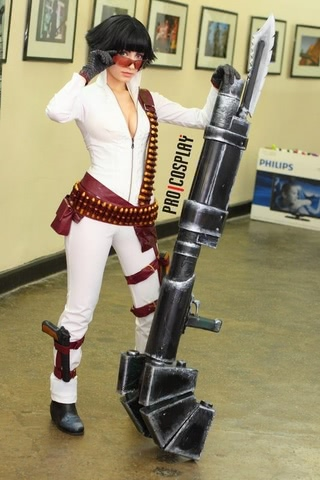 Lady by Narga-Lifestream (Devil May Cry 3) cosplay 12