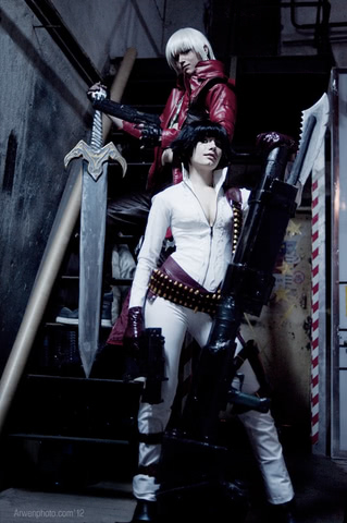 Lady by Narga-Lifestream (Devil May Cry 3) cosplay 13