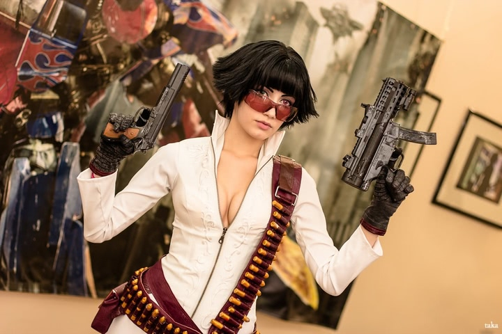 Lady by Narga-Lifestream (Devil May Cry 3) cosplay 14