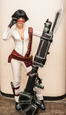 Lady by Narga-Lifestream (Devil May Cry 3) cosplay 15
