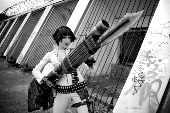 Lady by Narga-Lifestream (Devil May Cry 3) cosplay 18