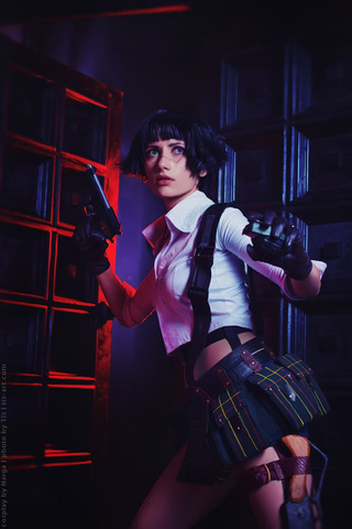 Lady by Narga-Lifestream (Devil May Cry 3) cosplay 24
