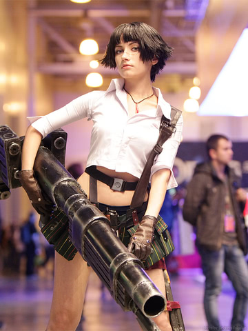 Lady by Narga-Lifestream (Devil May Cry 3) cosplay 25
