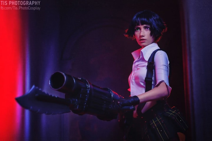 Lady by Narga-Lifestream (Devil May Cry 3) cosplay 27