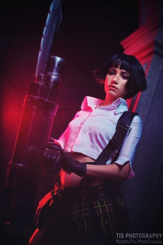 Lady by Narga-Lifestream (Devil May Cry 3) cosplay 28