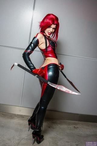 Rayne by iChios (BloodRayne) cosplay 25
