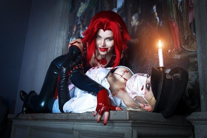 Rayne by iChios (BloodRayne) cosplay 27