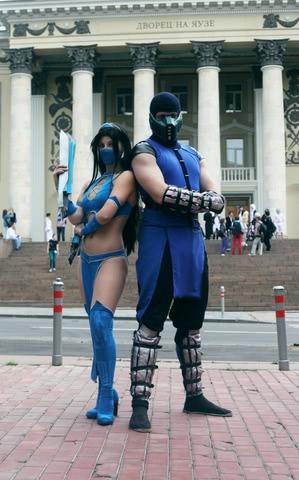Kitana by anastasya zelenova (Mortal Kombat) cosplay 14