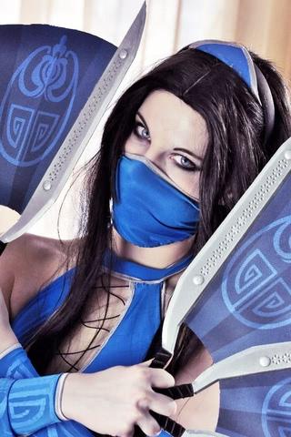 Kitana by anastasya zelenova (Mortal Kombat) cosplay 20
