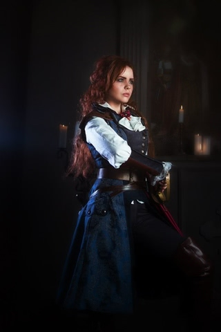 Elise by MilliganVick (AC Unity) cosplay 2