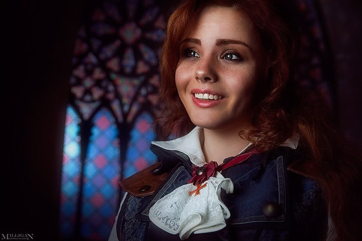 Elise by MilliganVick (AC Unity) cosplay 3