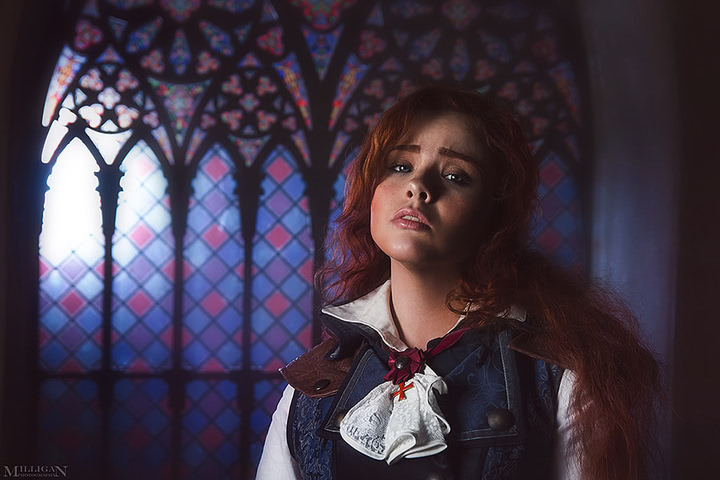 Elise by MilliganVick (AC Unity) cosplay 6