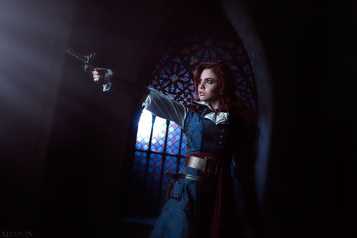 Elise by MilliganVick (AC Unity) cosplay 7