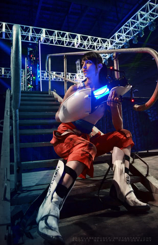 Chell by Angela Bermudez (Portal) cosplay 6