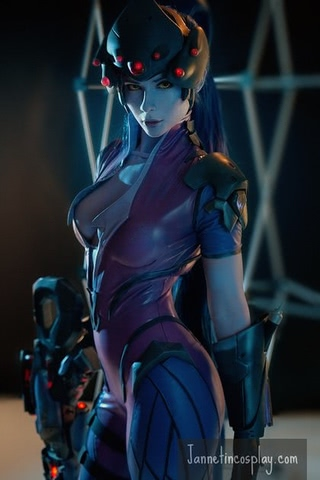 widowmaker by janetcosplay (Overwatch) cosplay 4