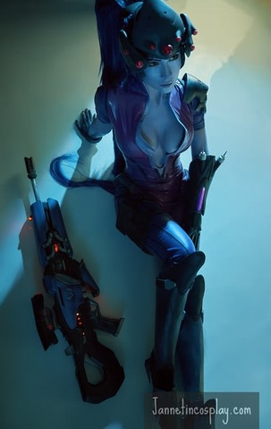 widowmaker by janetcosplay (Overwatch) cosplay 5