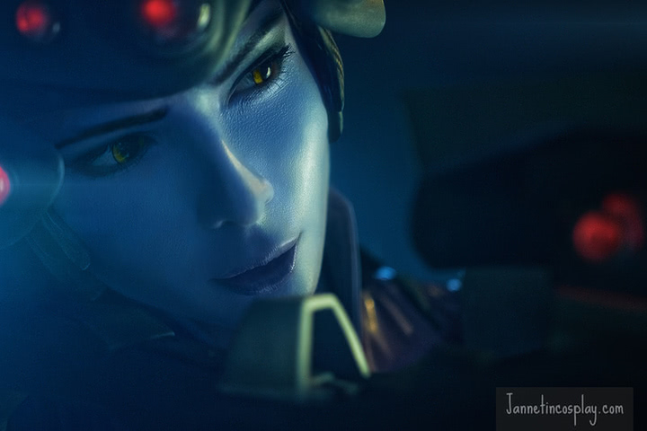 widowmaker by janetcosplay (Overwatch) cosplay 7