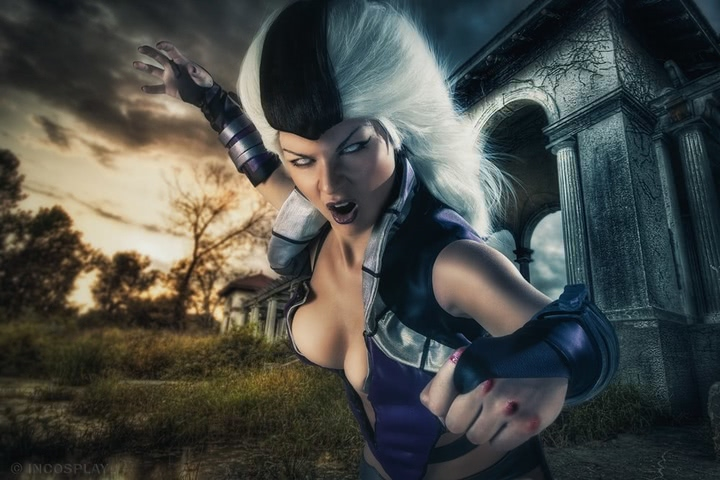 Sindel by janetcosplay (MK 9) cosplay 2