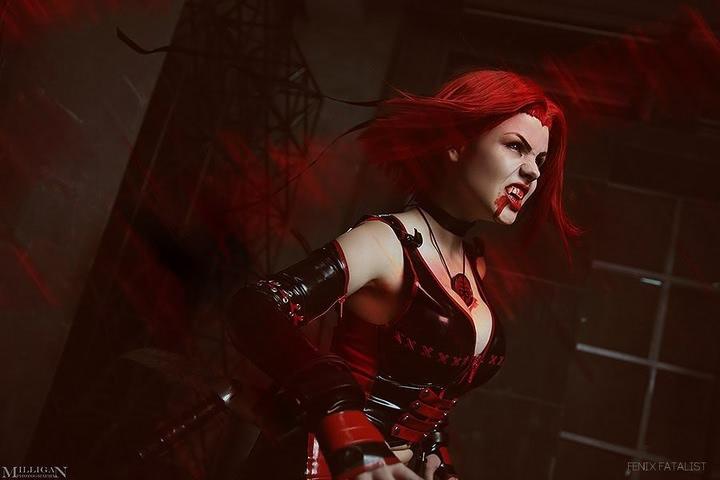 Rayne by Fenix.Fatalist (BloodRayne) cosplay 1