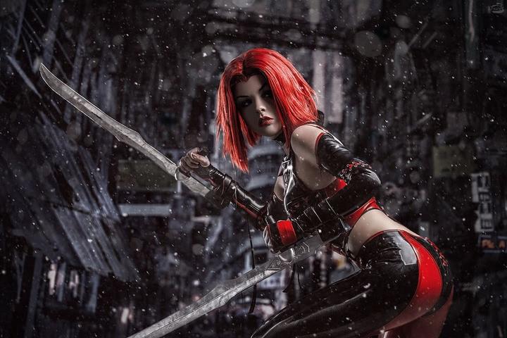 Rayne by Fenix.Fatalist (BloodRayne) cosplay 4