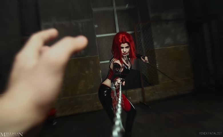 Rayne by Fenix.Fatalist (BloodRayne) cosplay 6