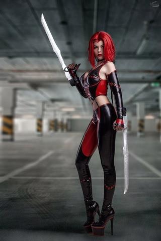 Rayne by Fenix.Fatalist (BloodRayne) cosplay 7
