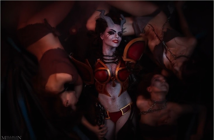 Queen of Pain by Fenix Fatalist (Dota 2) cosplay 7