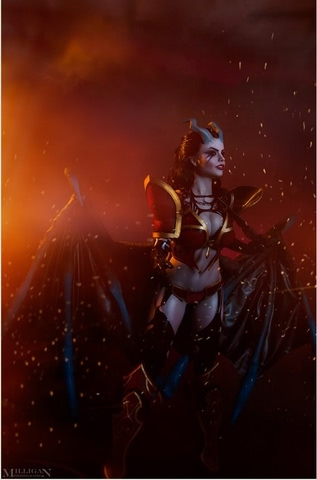 Queen of Pain by Fenix Fatalist (Dota 2) cosplay 8