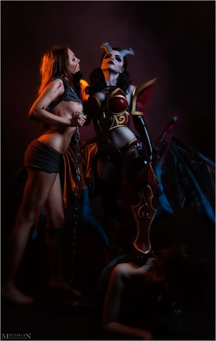 Queen of Pain by Fenix Fatalist (Dota 2) cosplay 9