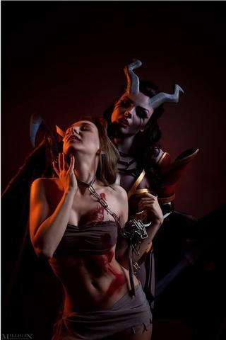 Queen of Pain by Fenix Fatalist (Dota 2) cosplay 10