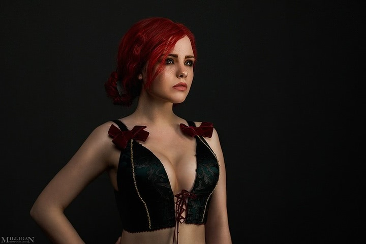 Triss by Fenix Fatalist (Witcher 3) cosplay 1