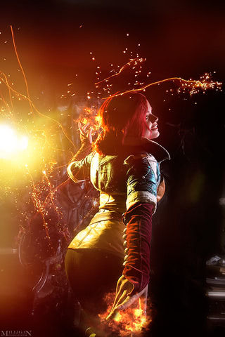 Triss by Fenix Fatalist (Witcher 3) cosplay 3