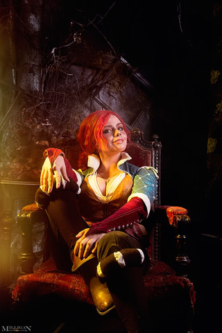 Triss by Fenix Fatalist (Witcher 3) cosplay 4