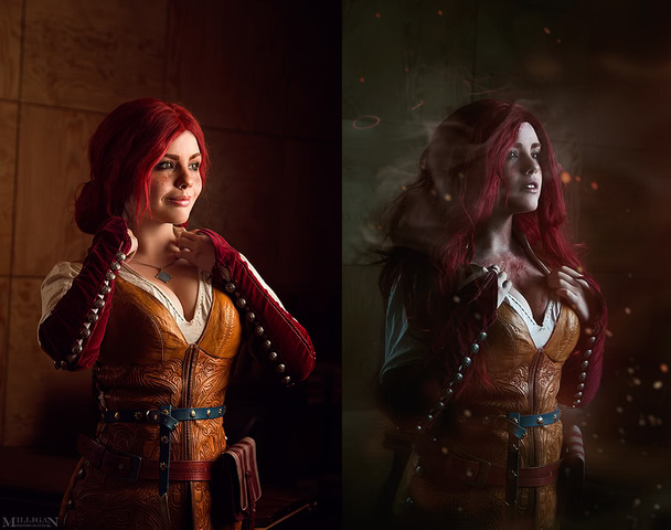 Triss by Fenix Fatalist (Witcher 3) cosplay 5