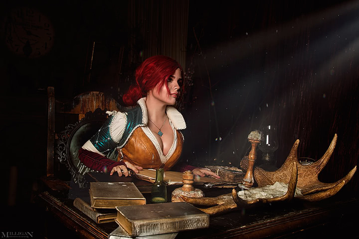 Triss by Fenix Fatalist (Witcher 3) cosplay 6