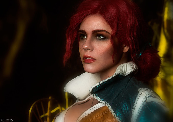 Triss by Fenix Fatalist (Witcher 3) cosplay 7