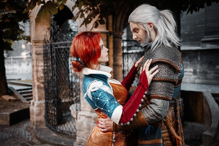 Triss by Fenix Fatalist (Witcher 3) cosplay 9