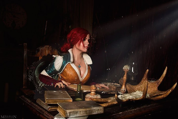 Triss by Fenix Fatalist (Witcher 3) cosplay 10