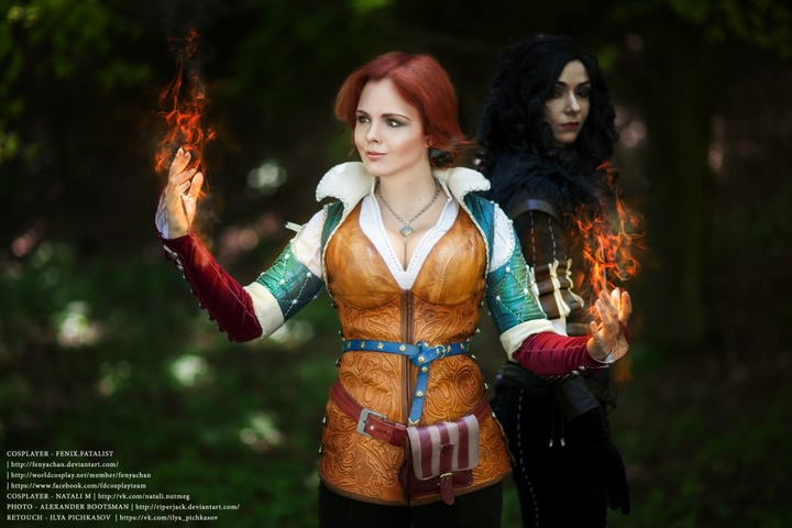 Triss by Fenix Fatalist (Witcher 3) cosplay 11
