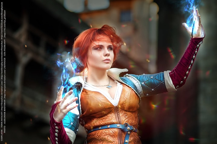 Triss by Fenix Fatalist (Witcher 3) cosplay 13